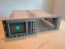 Tektronix 760A Stereo Audio Monitor Vectorscope w/Dual Rackmount Chassis
