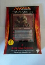 MTG Magic The Gathering BUILT FROM SCRATCH 2014 COMMANDER DECK  BRAND NEW SEALED