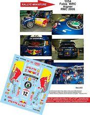 DECALS 1/32 REF 1054 SKODA FABIA WRC AIGNER RALLY MOUNTED CARLO 2006 RALLY WRC