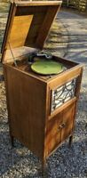 WIDDICOMB FURNITURE RARE PHONOGRAPH CABINET FLOOR GRAND RAPIDS CRAFTSMAN 78 VTG