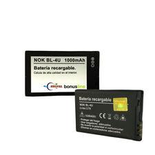 Batería Nueva BL-4U para Nokia 6212 E66 E75 5730 6600S 5530 3120 8800 C5-03