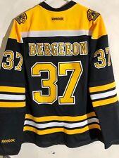 d7f07082 Reebok Women's Premier NHL Jersey Boston Bruins Patrice Bergeron Black sz 2X