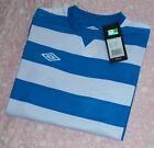 Boy's Authentic Umbro Brand Hoop Knit L/S Football Shirt