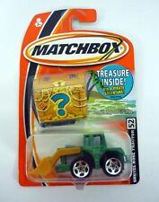 Matchbox Pala Nariz Tractor Tesoro Interior Interior Die-cast MOC COMPLETO 2005