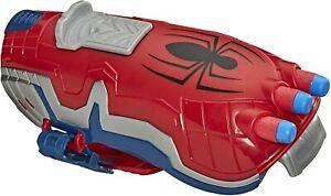 Spider-Man NERF Power Moves Marvel Web Blast Web Shooter NERF Dart-Launching Toy