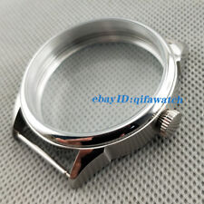 42mm Brushed Stainless Steel Case 6497/6498 Seagull ST36 Mechanical Watch P765