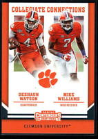 2017 Panini Contenders Draft Picks Collegiate Connections - Pick A Player