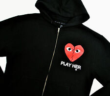 Rare Blvck Scvle Play Her Broken Heart Hoodie Med L CDG Black Scale Unrealeased