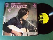GOLDEN HOUR presents JOAN BAEZ - LP embossed sleeve - 60 min compilation GH 843