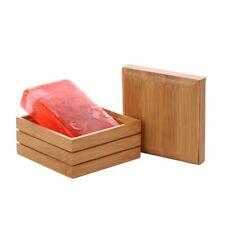 Bamboo Soap Dishes Creative  Manual Drain  Soap Box  Wooden Soap Holder.