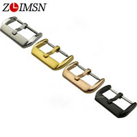 Watch Band Strap Clasp Stainless Steel Silver Needle Buckle 10~14 16 18 20 22mm