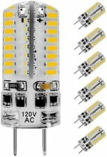 G8 Dimmable LED Bulb 3W (20W-30W Equivalent) AC 110-130V 3000K-6000K (6 Pack)