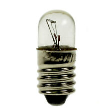 Small 12V 3W 250MA E10 Light Bulb 9X23mm (Pack of 5)