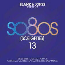 "BLANK & JONES - SO80S 13 2019 2CD 22 x 12"" Mixes SADE,BLONDIE,THIRD WORLD,MASON!"