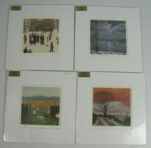 Collection of 4 Cedar Gallery Jeff Sudders Lake District Art Prints Sealed Wrap