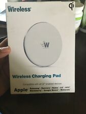 Just Wireless Ultra Slim Qi Wireless Charging Pad for cell phone