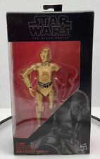 Star Wars Black Series The Force Awakens Wave #29 C-3PO Resistance Base Red Arm