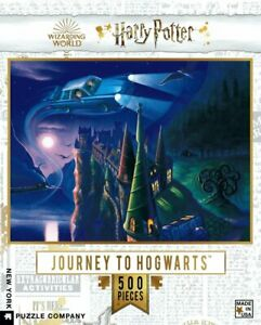 Harry Potter Journey To Hogwarts 500 Piece Puzzle 457mm x 610mm (nyp)