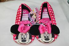 GIRLS SHOES BY DISNEY JUNIOR-- MINNIE MOUSE- FREE SHIPPING SIZE LARGE (9-10)