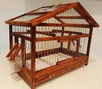Bird Cage // Bird House // Bird Home // Wooden  Handcrafted // Rustic // Vintage