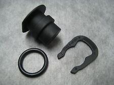 Coolant Outlet Flange Plug O-Ring & Clip for Audi VW - 3 Pc Kit - Ships Fast!
