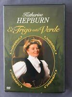 DVD EL TRIGO ESTÁ VERDE Katharine Hepburn Ian Saynor Bill Fraser GEORGE CUKOR