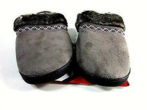 Isotoner Women's Imani Clog Slipper, Smokey Taup US Size 9.5-10 Medium
