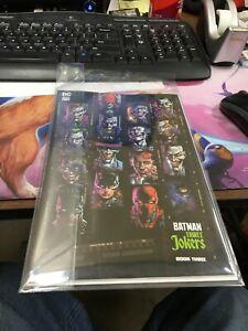 BATMAN THREE JOKERS #3 VARIANT 1:450 DC COMICS