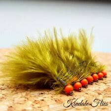 Hothead Damsel Lure size 10 (Set of 3) Fly Fishing Flies Trout
