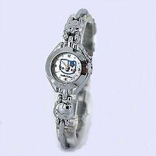Neat señoras Hello Kitty Reloj De Plata Estilo