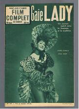 FRENCH MOVIE MAGAZINE 1954  JEAN KENT JAMES DONALD RUTH ROMAN POLA NEGRI
