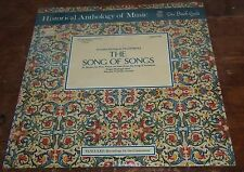 Venhoda PALESTRINA The Song of Songs - Vanguard/Bach Guild HM 9 SD SEALED
