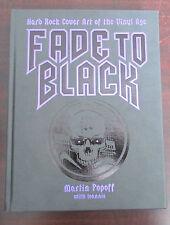 Fade to Black Hardcover Limited Edition Iron Maiden Black Sabbath Slayer AC DC