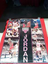 "Oversized, official -1990- 41.5""x55"" ""Michael Jordon- Basketball Player"" poster"