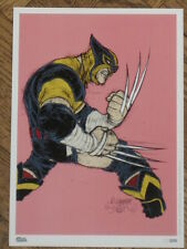 RAFAEL GRAMPA WOLVERINE LIMITED FRENCH PRINT /250 MESMO DELIVERY