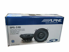 New listing Alpine Type-S Sps-510 5.25 Inches 2-Way Type-S Series Coaxial Car Audio Speakers