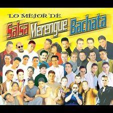 Lo Mejor De Salsa, Merengue, Bachata [Box Set] (CD, Apr-2002, 3 Discs, Sony) NEW