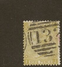 GB 1867 9d SG110  USED  ' IJ '