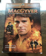 Macgyver The Complete First Season (Dvd 1985 6- Disc Set)
