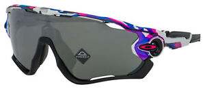 Oakley Jawbreaker Sunglasses OO9290-6031 Meguru Spin | Prizm Black Lens