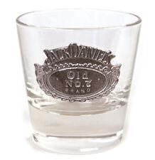 Jack Daniels Bourbon Mischpult Glas - rund