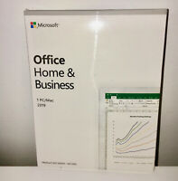 Microsoft Office Home and Business 2019 For 1 PC - Genuine / New & Sealed