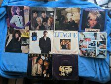 "1980's POP / ROCK 10 7"" Record Lot Human League INXS Pet Shop Boys ' Til Tuesday"