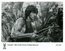 SYLVESTER STALLONE RAMBO: FIRST BLOOD PART II 1985 VINTAGE PHOTO ORIGINAL #2