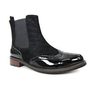Lunar Pluto Brogue Ankle Boot