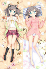 Hentai Ouji to Warawanai Neko loli Dakimakura Anime Hugging Body Pillow Case