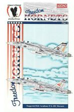Eagle Strike Freedom F/A-18C Hornets Decals 1/32 Academy Kit 32050
