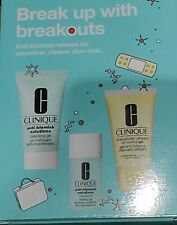 💚🧖CLINIQUE BREAK UP WITH BREAK OUTS SET , NEW IN THE BOX UNUSED 💚🧖