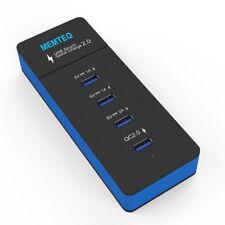 Universal 30W 4-Port USB Ladeger?t Ladeadapter Multiport Adapter für iPhone iPad