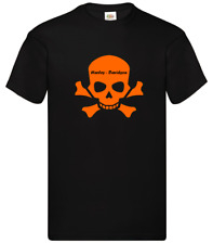 Maglietta T-Shirt motorcicle moto Harley Davidson Skull Inspired
